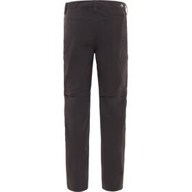 The North Face Exploration Pantalones convertibles Largo Hombre, asphalt grey